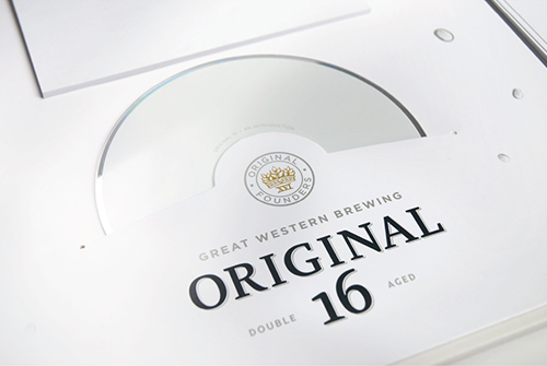 Original 16 Sales Folder Close Up