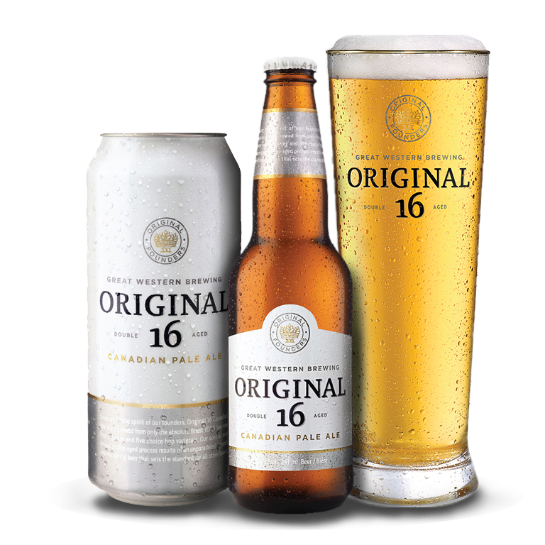 Original 16 Beer Packaging