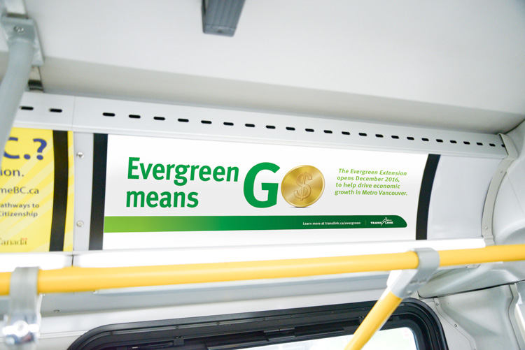TransLink Evergreen Line Bus Interior