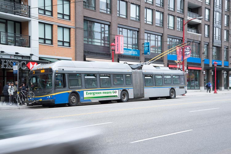 Translink Evergreen Line Bus Ad